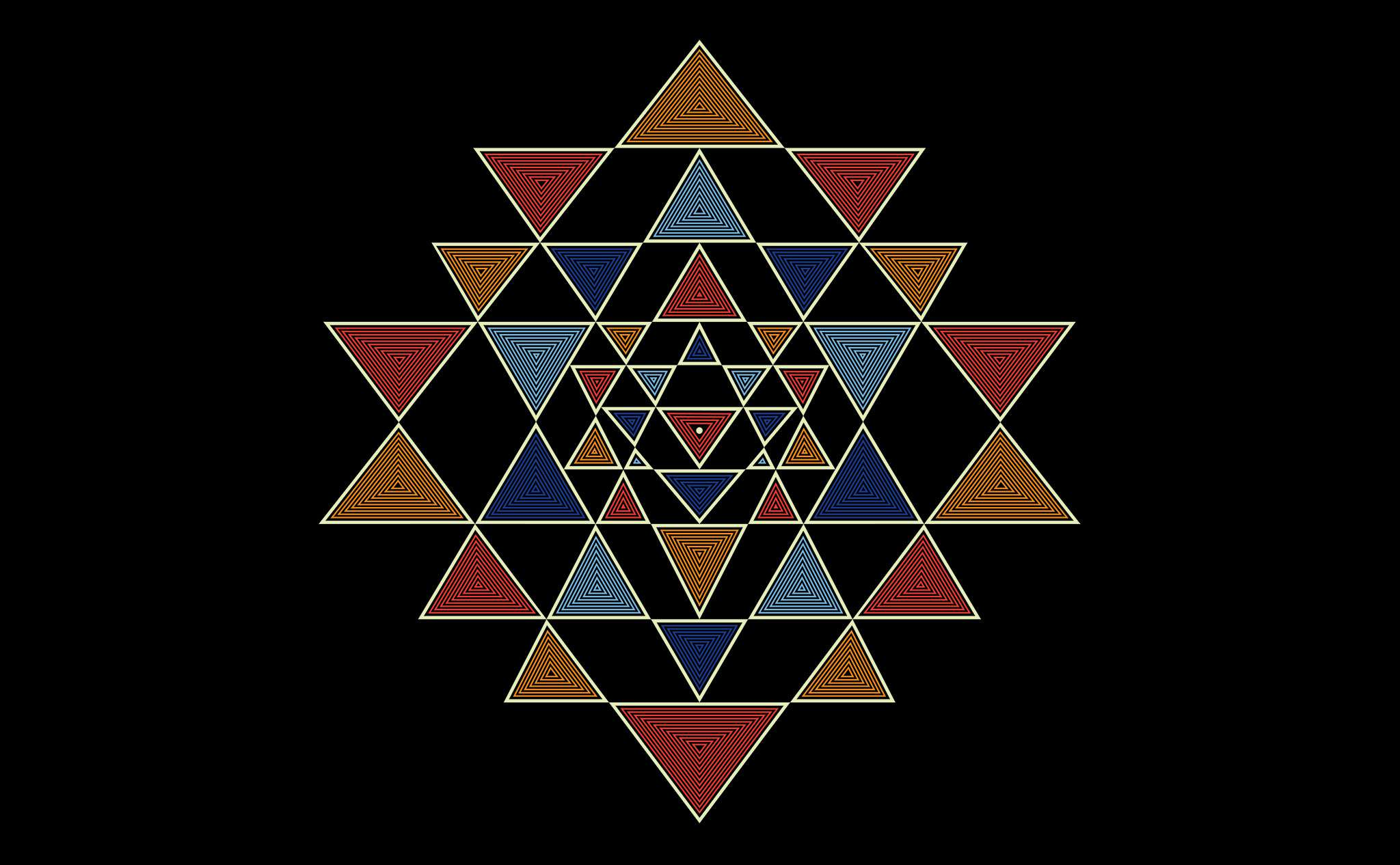artwork sriyantra