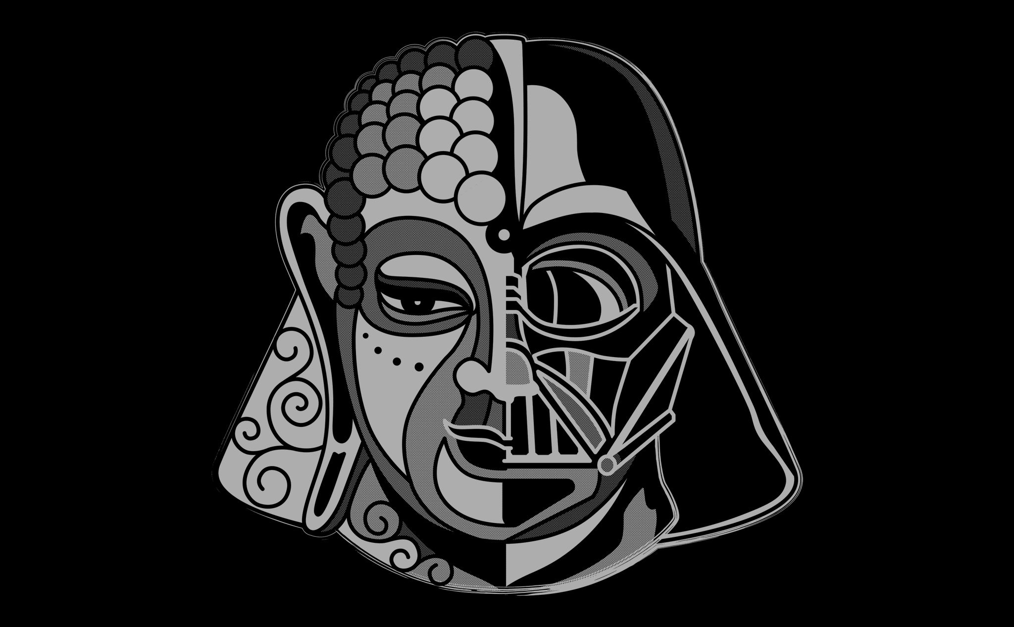 artwork darthbuddha